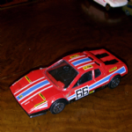 1:43 Burago Ferrari 512 BB BOXER  Diecast model (red) No 66 agip carello racing @SOLD@